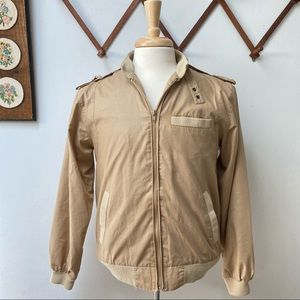 Vintage 1980s Members Only Bomber Jacket